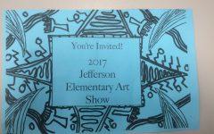 Jefferson Elementary Art Show