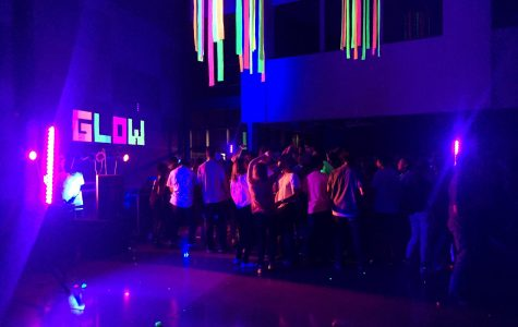 Blacklight Dance Big Success