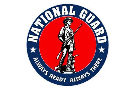 National Guard Visits School