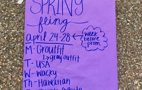 Spring Fling Coming Up Soon