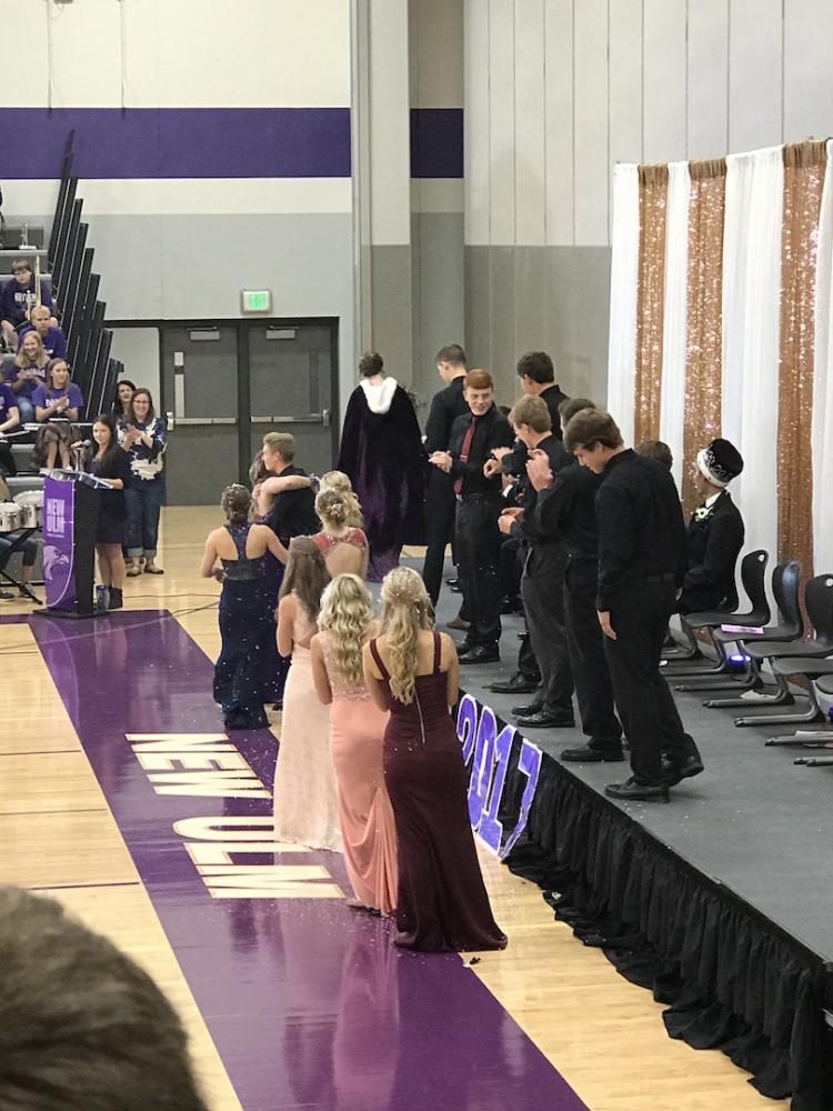 Congratulations to Jane Arnoldt for winning Homecoming queen