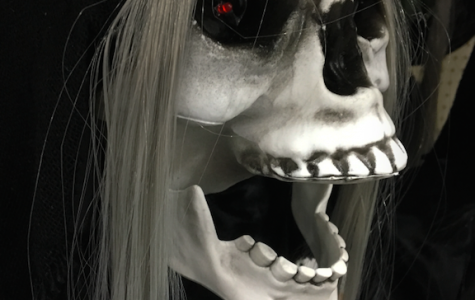 TRICK-OR-TREAT, Local store Menards gets into the Halloween spirit by selling fake skeletons and other monster decorations