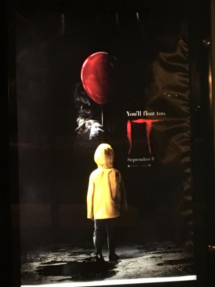 Simple red balloons are terrifying locals with the new release of IT, a movie based off of the book by Stephen King