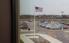 The American Flag In Front of NUHS…