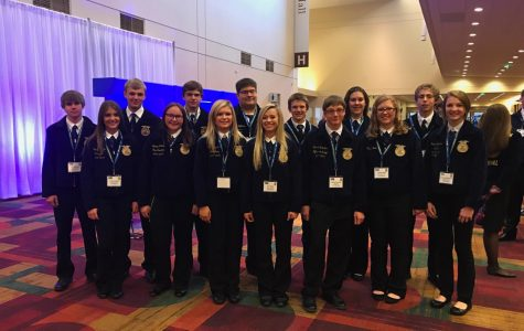 National FFA crew at the expo.