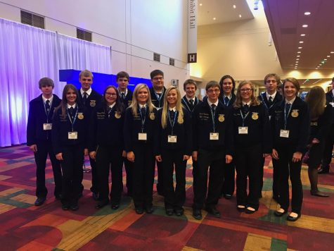 "National FFA Convention ""I CAN WE WILL"""