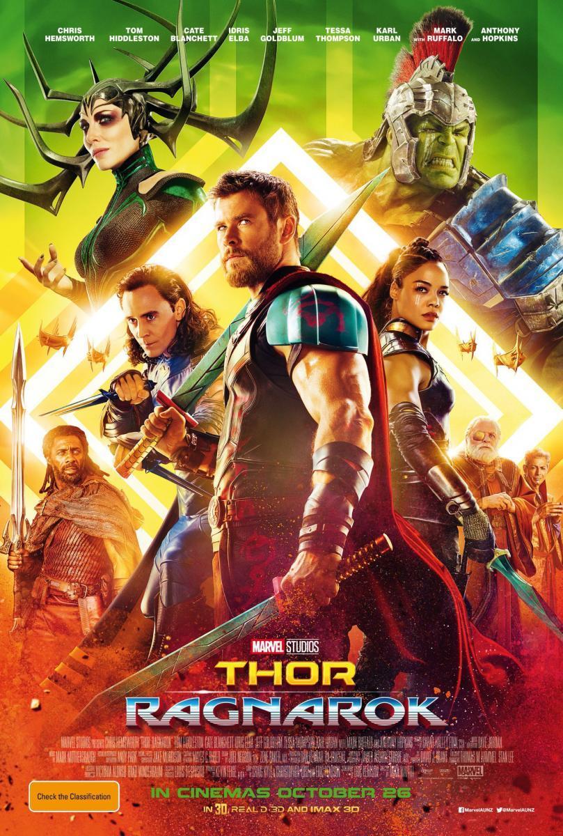 Thor: Ragnarok was released on  November 3, 2017