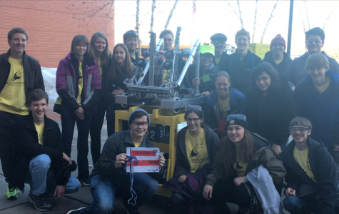 Robotics Team Competes in Eagan