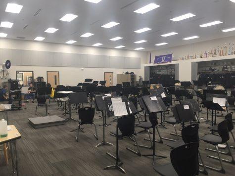 NUHS Band Room