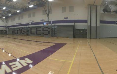 New Ulm High School's gym
