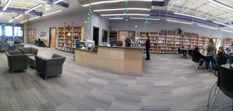 New Ulm High School Library