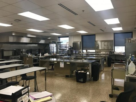 Family and Consumer Science Classroom Kitchen