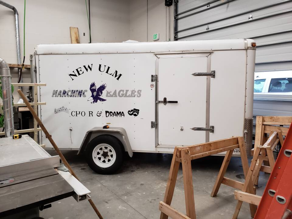 The new trailer that will help make upcoming projects easier