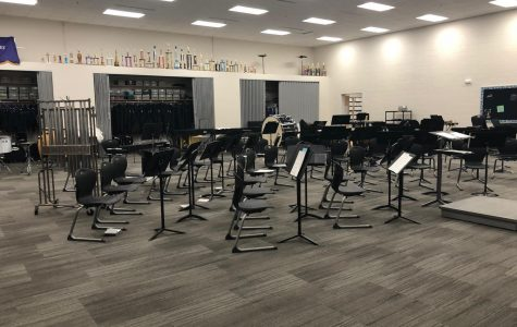 New Ulm High School Band Room