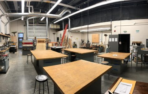 New Ulm High School's Wood Shop