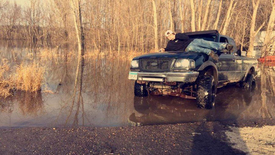Danger Ranger Enjoying The Flooded Areas.
