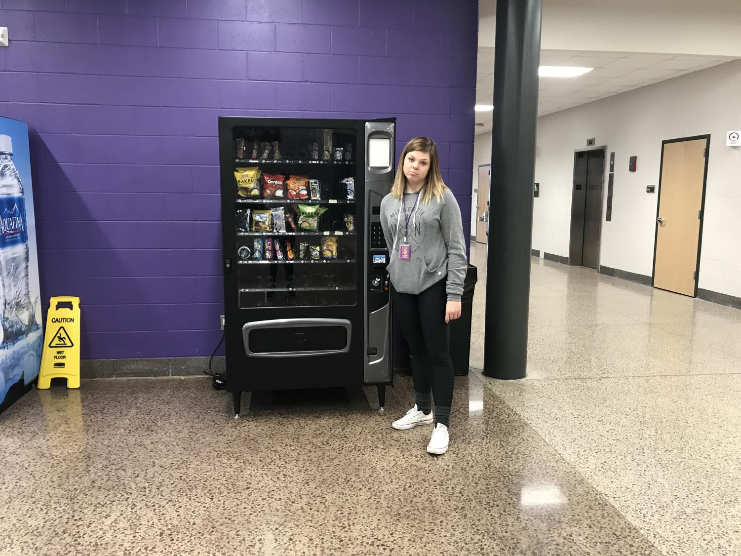 Students are sad about the vending machines being  shut down during school hours.