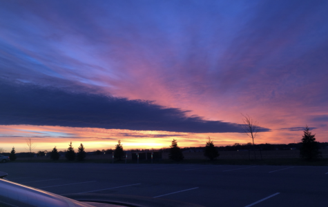 Sweet Sunrise at New Ulm High School