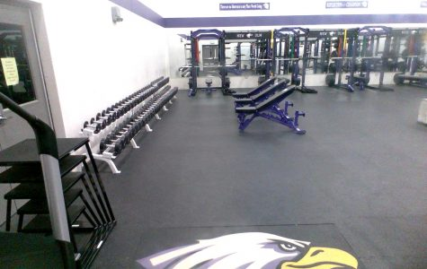 New Equipment In The Weight Room