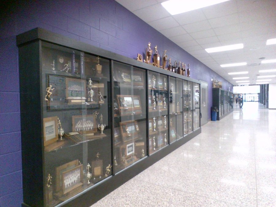 Not enough space for all the awards!