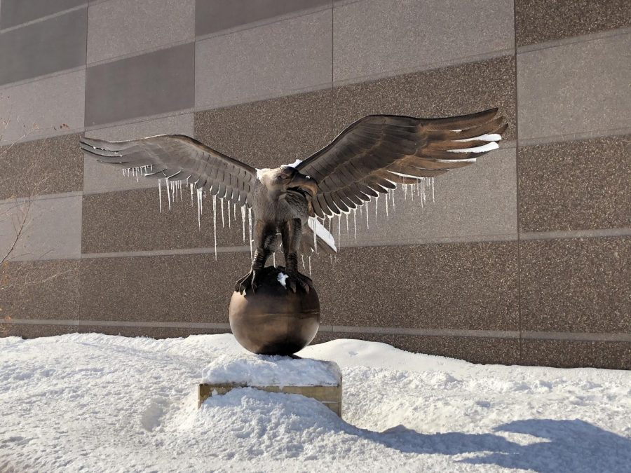 Even Eagles with ice on their wings can soar!