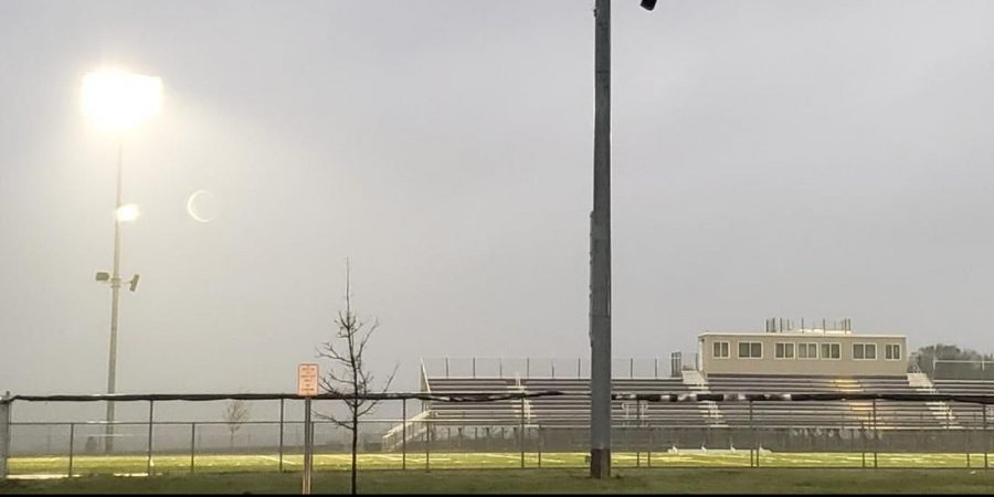 The Lights on at the NUHS stadium for 20 minutes for the Class of 2020 athletes who got their senior year stolen by Covid-19