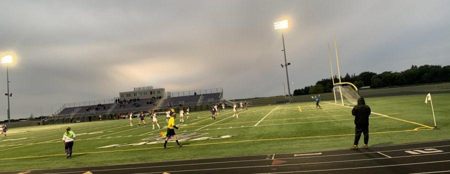 Girls Soccer blanks Marshall