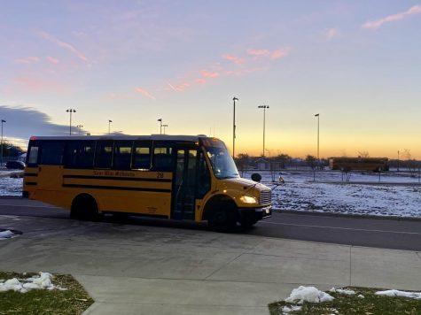 Morning view at New Ulm HIgh School