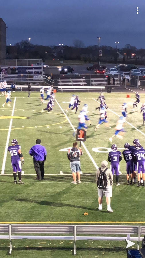 "The C-Squad football team played their last game of the season against the Waseca Bluejays on Monday, November 9th. Fortunately, they took a win and they ended their season with a great record, only losing one game. ""I"