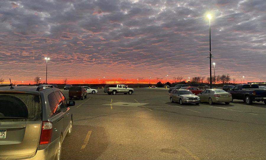 A beautiful New Ulm sunset.