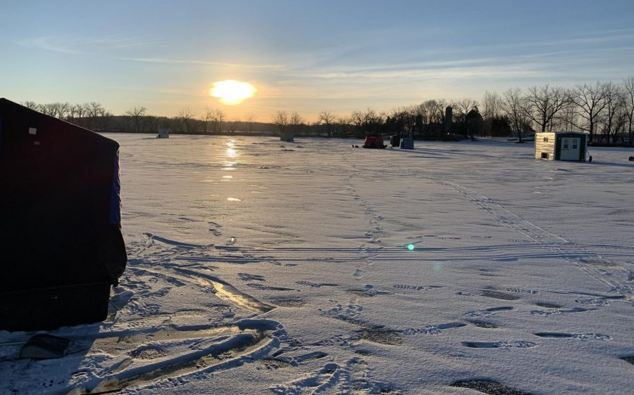 Finally Fishing on Hard Water