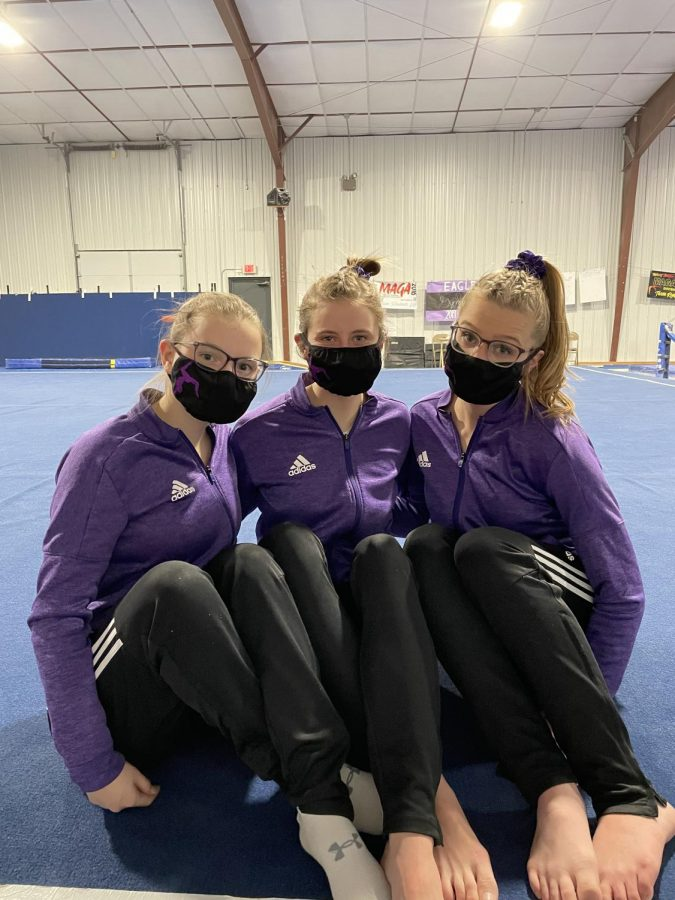 Covid strikes the Gymnastics team