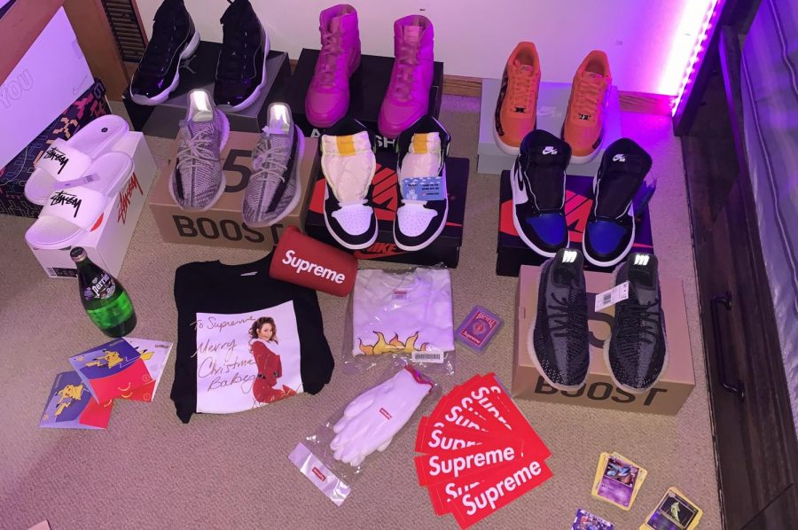 Collin Horning's shoe and accessory collection