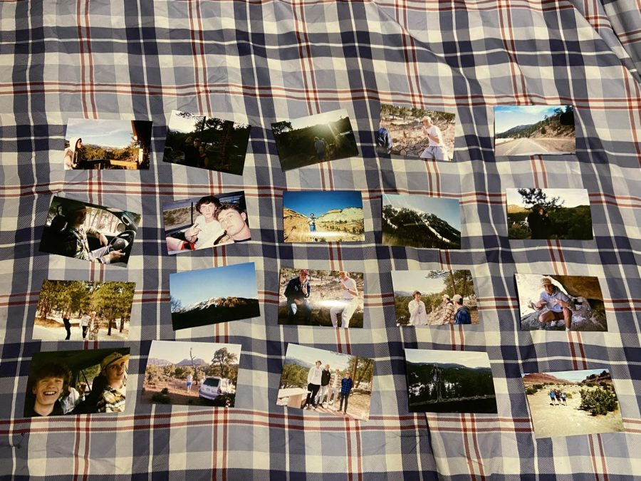 Some of the multiple pictures taken while on the trip.