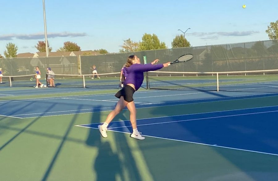 New Ulm tennis takes the win