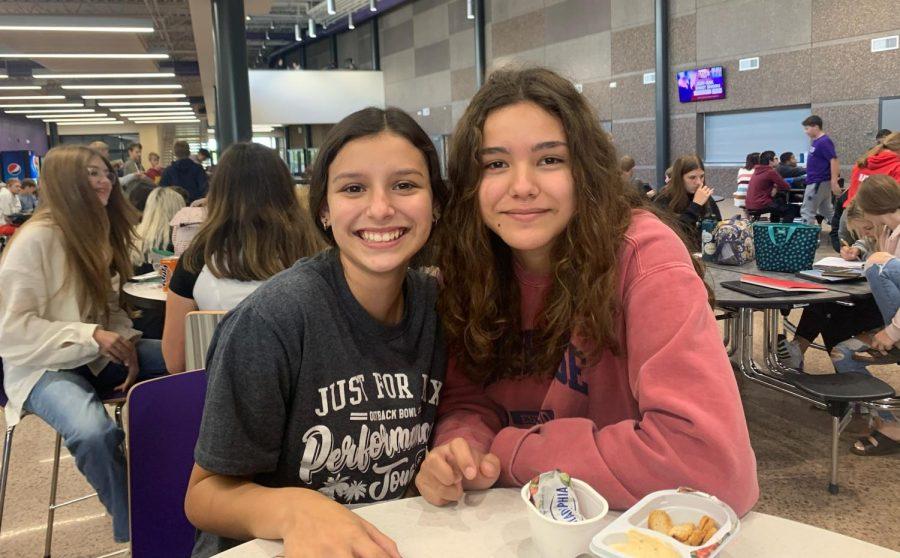 New Ulm High School students Jasmin Huerta and Carley Achman talk about freshman year.