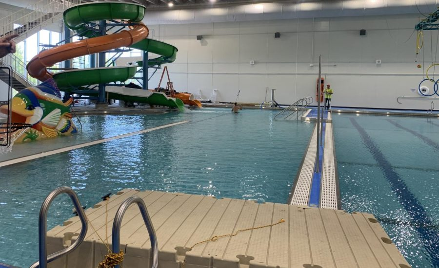 New Ulm Rec centers newly renovated pool.